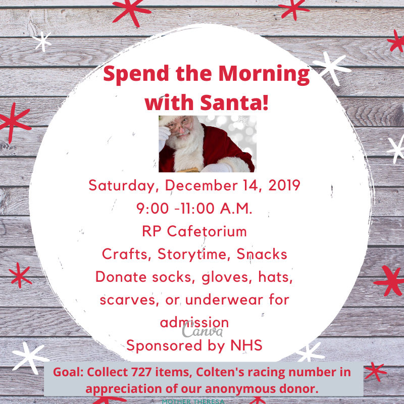 Spend the Morning with Santa!