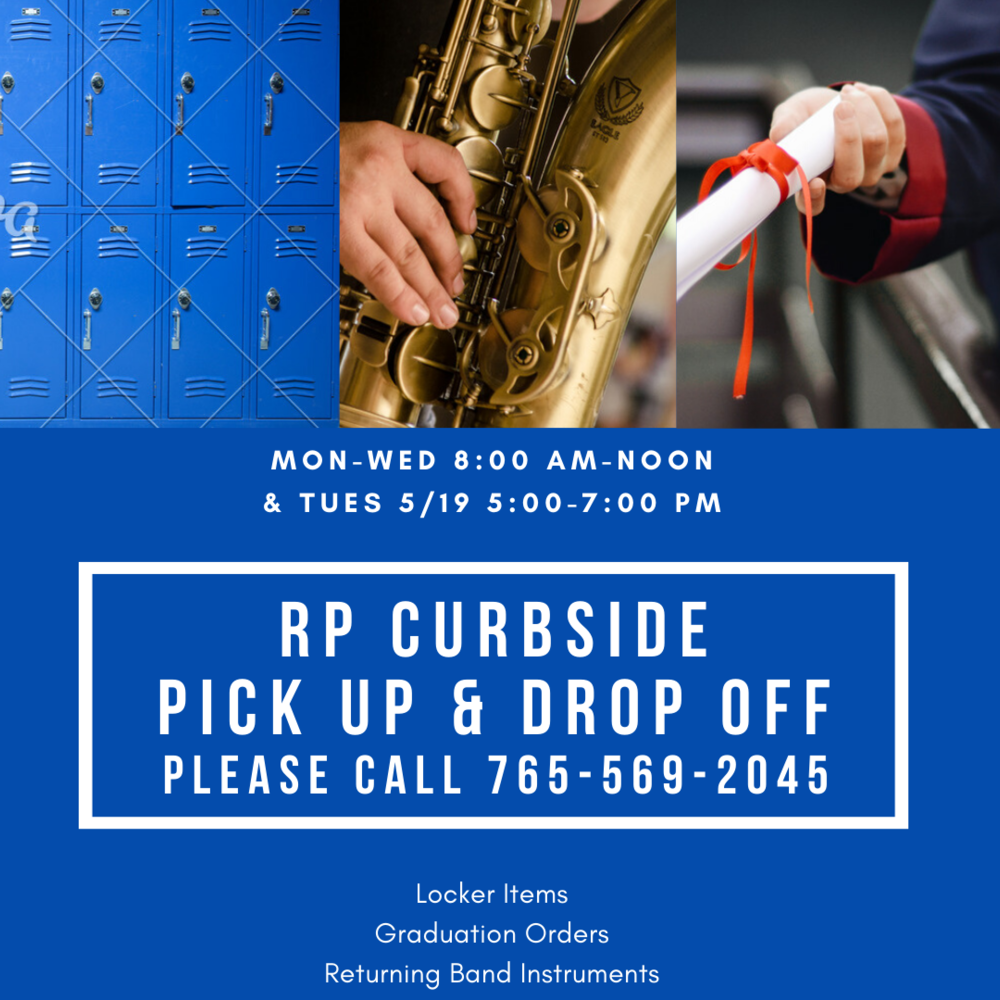 RP Curbside Pick Up & Drop Off
