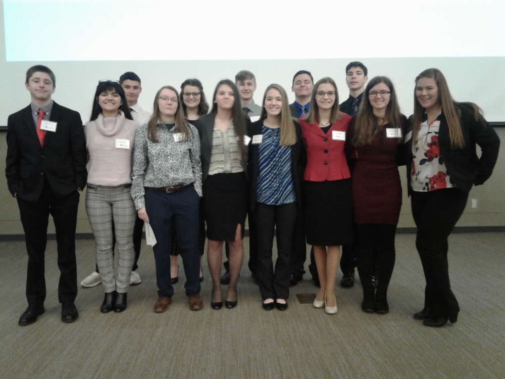 JAG Students Fare Well at Region 7 Career Development Conference