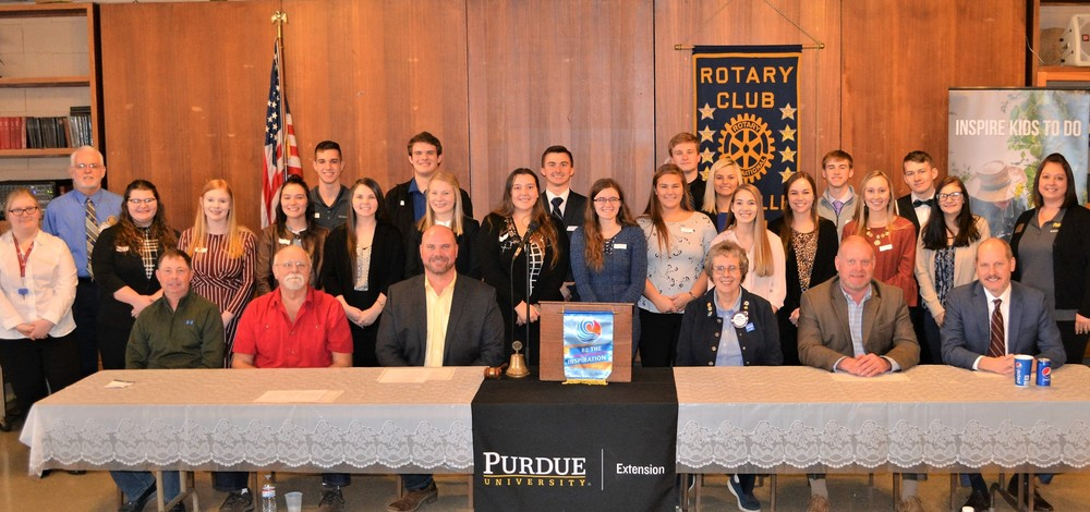 ​Panthers Participate in 39th Annual Parke County Youth In Government Day