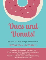 Dues and Donuts!