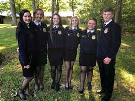 FFA Officers Attend Leadership Development Workshop