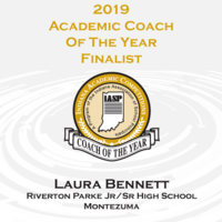 ​Bennett Named 2019 Academic Coach of the Year Finalist