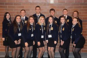 Riverton Parke FFA Members Attend 92nd National Convention