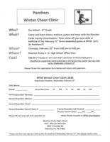Winter Cheer Clinic