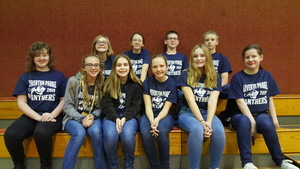 Junior High Spell Bowl Team Takes 1st Place