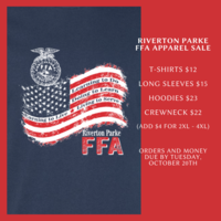 FFA Apparel Sale!