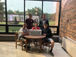 RP Library Receives Donation from Panther Touchdown Club