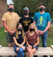 "​Riverton Parke FFA Officers ""Attend"" Virtual LDW"