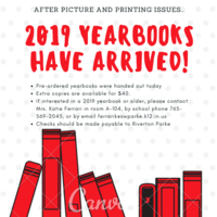 2019 Yearbooks Have Arrived!