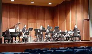 Panthers Participate in ISU Jazz Festival