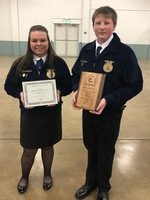 FFA Members Attend Annual Soil and Water Conservation Meeting