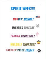 Winter Homecoming Spirit Days Next Week