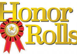 Riverton Parke Jr./Sr. High School  2nd Quarter Honor Roll 2020-2021