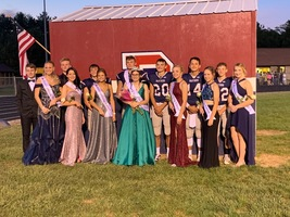 RP Fall Homecoming Royalty 2019