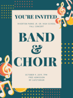 RP Band & Choir Concert
