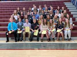 New National Junior Honor Society Members Inducted